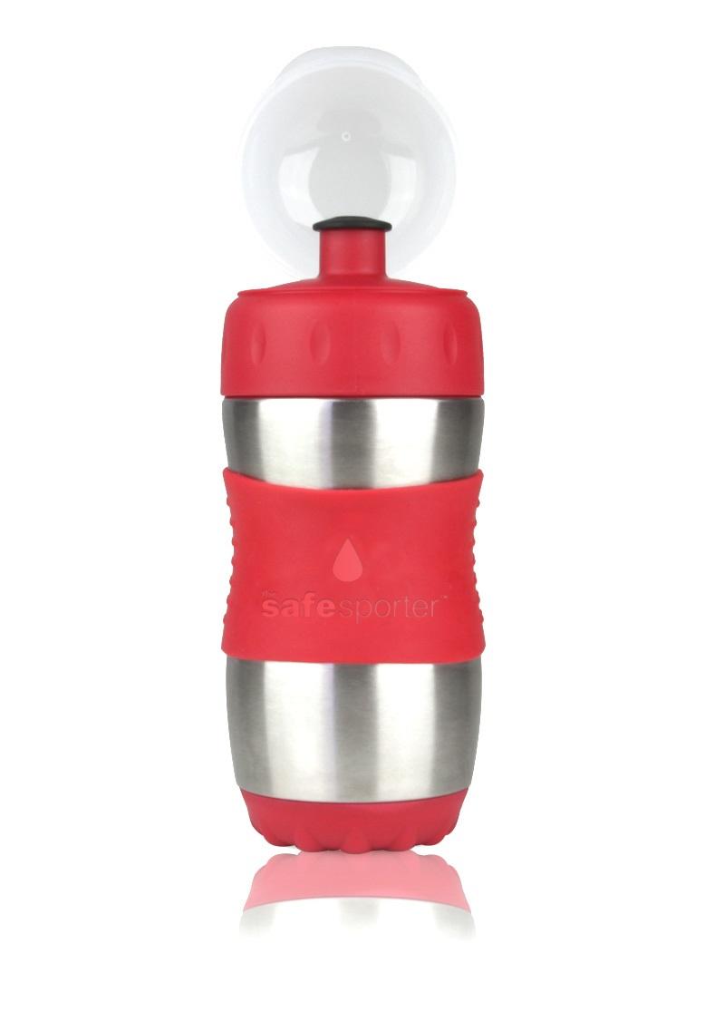 Garrafinha Safe Sporter 355 ml Vermelha