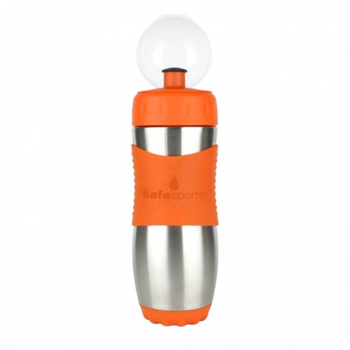 Garrafa Safe Sporter 475 ml Laranja
