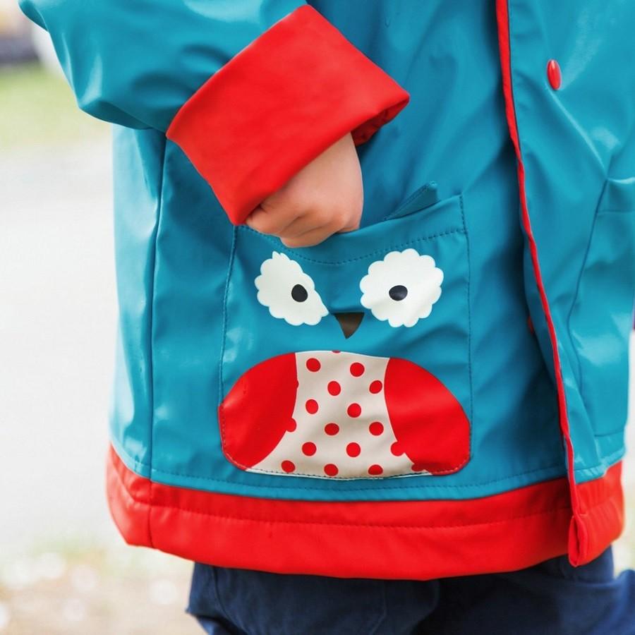 Capa de chuva Coruja 5 - 6 anos Skip Hop