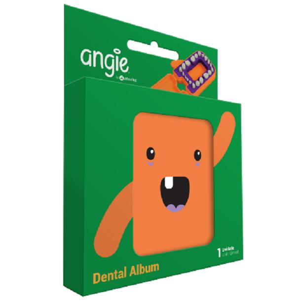 Porta Dentinhos Laranja Angie
