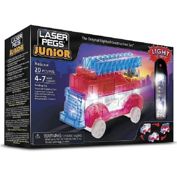Resgate 3 em 1 Zippy Do Laser Pegs