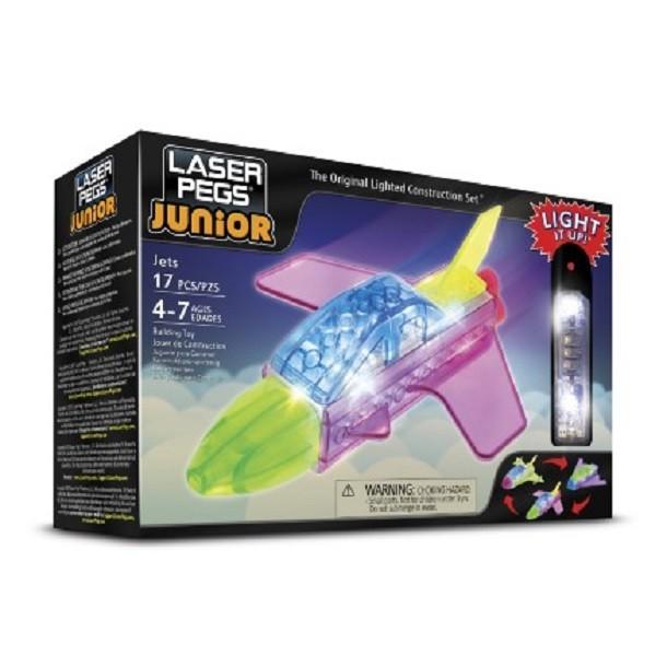 Jatos 3 em 1 ZippyDo Laser Pegs