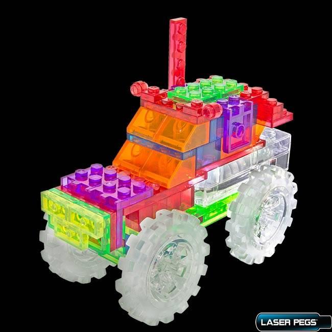 Monster Truck 6 em 1 ZippyDo Laser Pegs