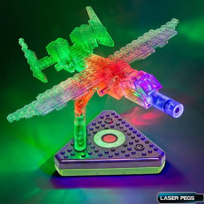 Jato Executivo 6 em 1 ZippyDo Laser Pegs