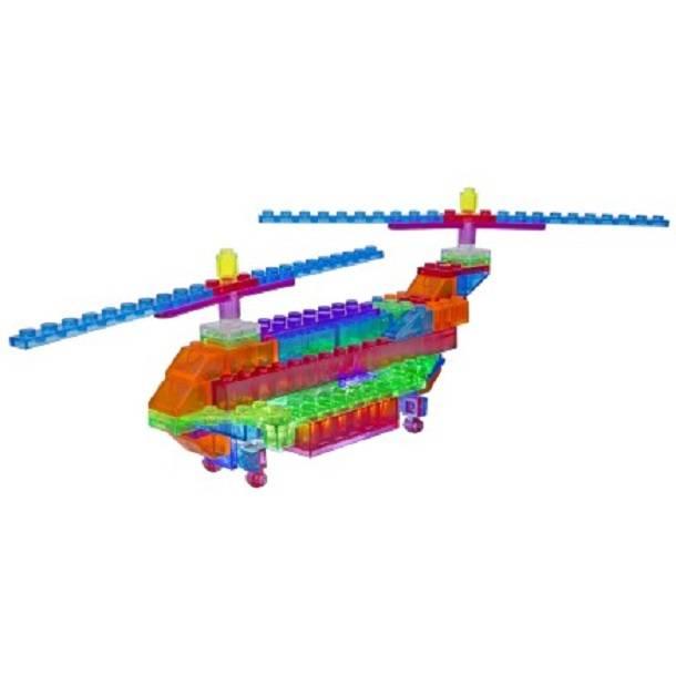 Helicóptero de Ataque 6 em 1 Zippy Do Laser Pegs