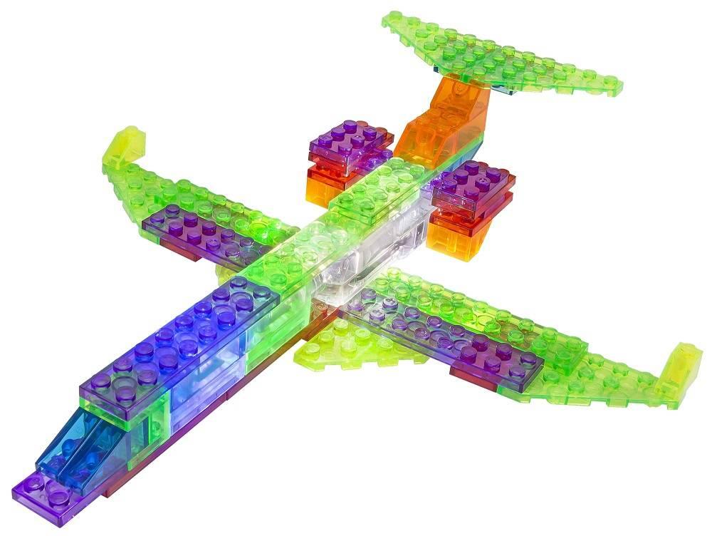 Avião Mustang 6 em 1 Zippy Do Laser Pegs