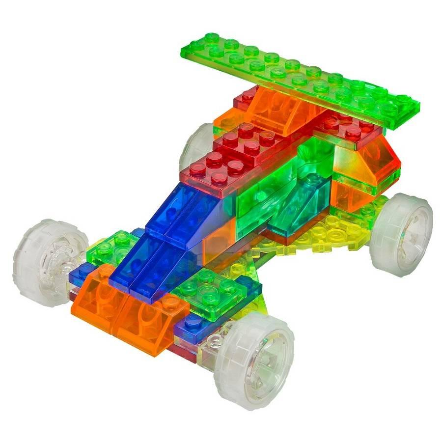 Carros 4 em 1 Laser Pegs