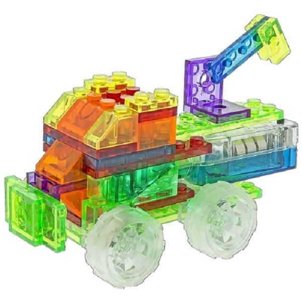 Mini Caminhões 4 em 1 Laser Pegs