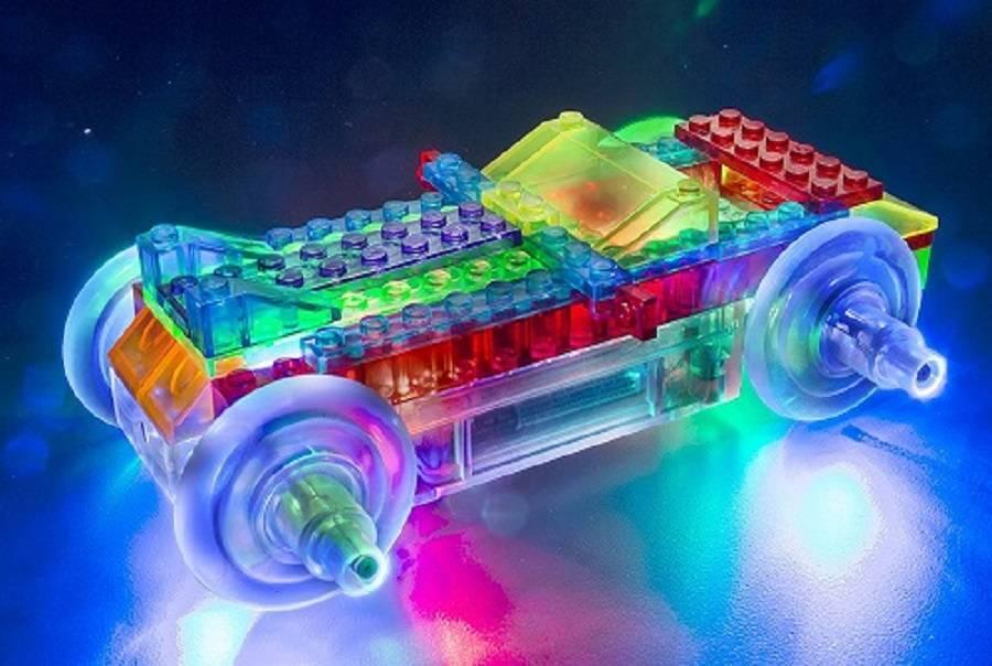 Carro Esporte 8 em 1 Laser Pegs