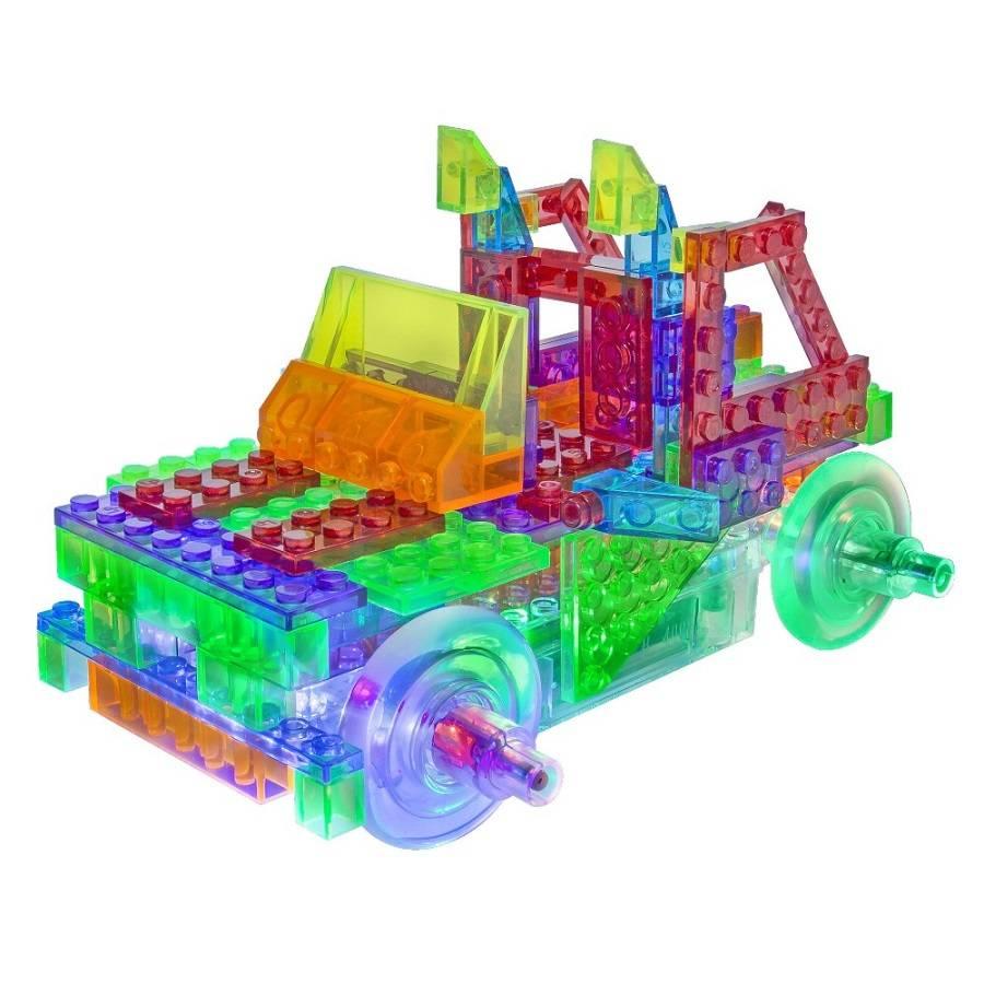 Caminhão 8 em 1 Laser Pegs