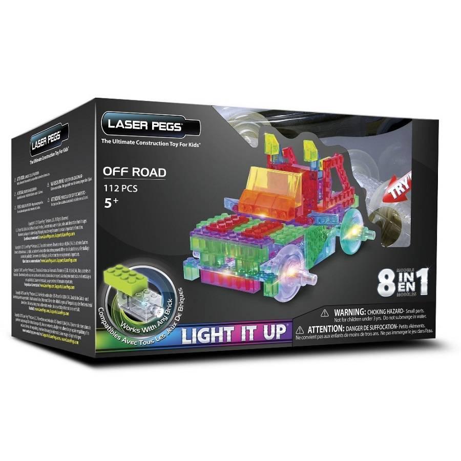 Off Road 8 em 1 Laser Pegs