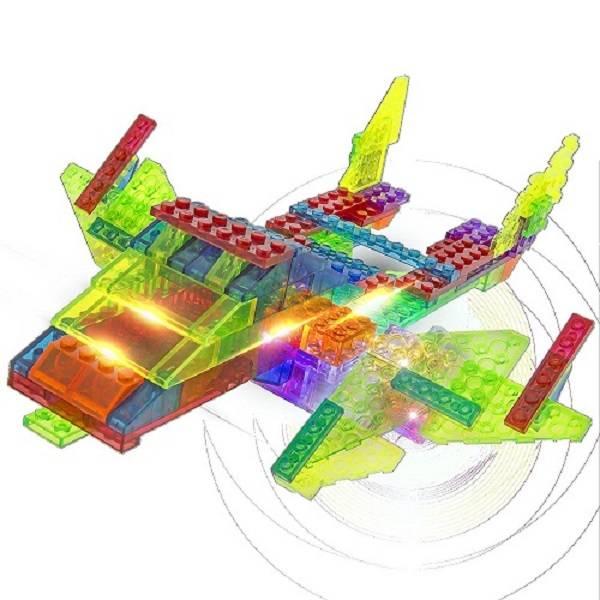 Cruzador Intergaláctico 12 em 1 Laser Pegs