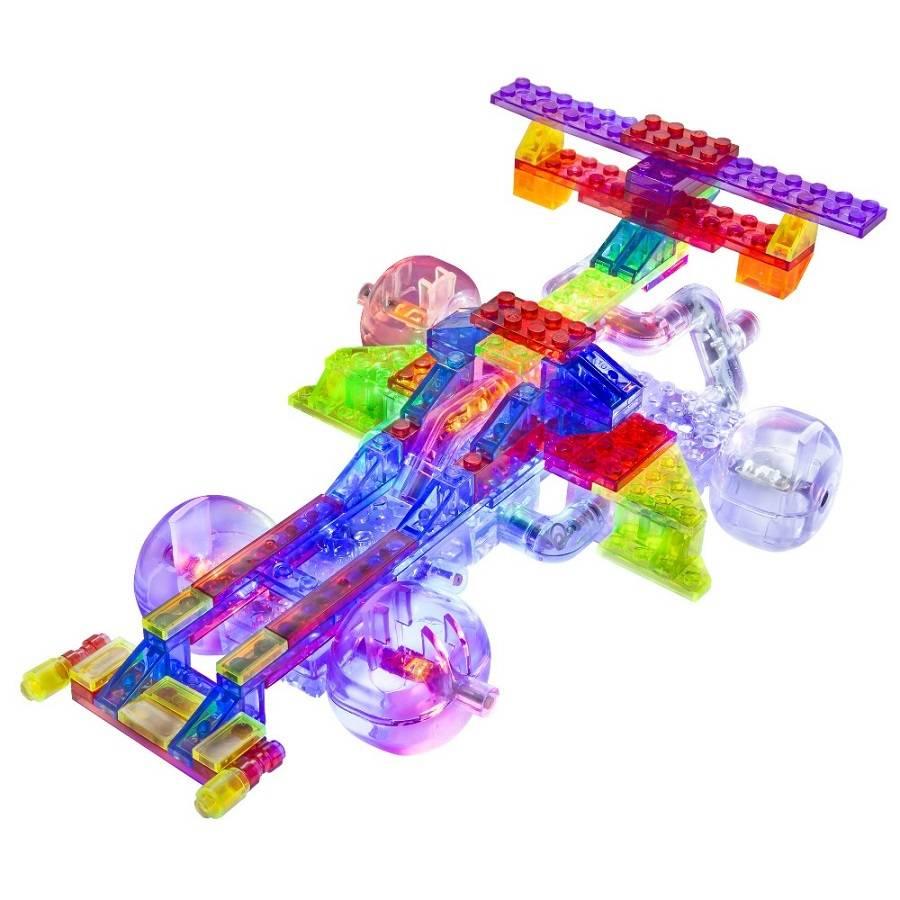 Laser Pegs Carro de Corrida - 12 em 1