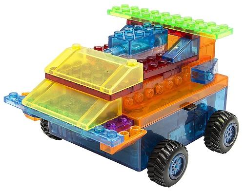 Carro 8 em 1 Laser Pegs
