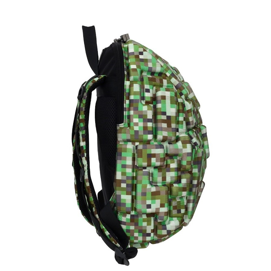Mochila Blok Infantil Camuflada Verde - MadPax