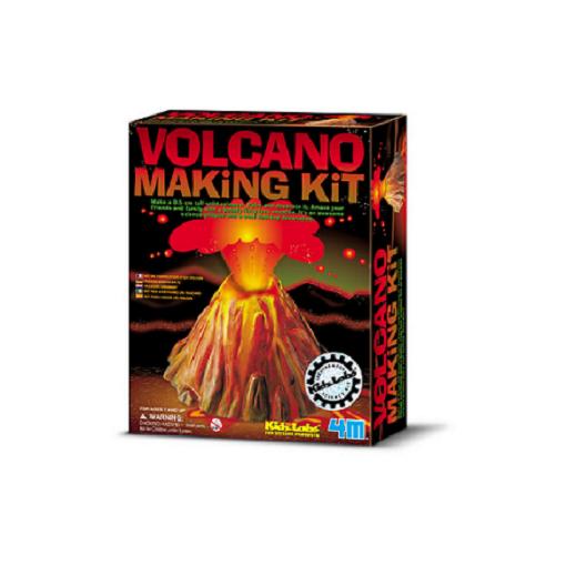 Kit Construa o Seu Vulcão  4M