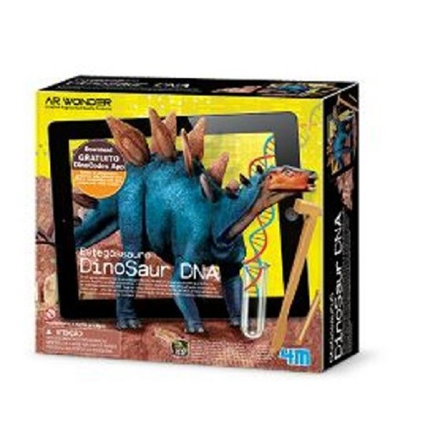 Estegossauro Dino DNA 4M
