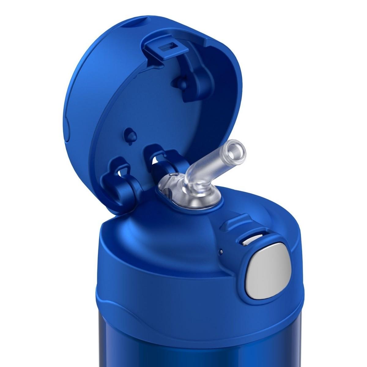 Garrafinha Térmica Funtainer 355 ml Azul Thermos