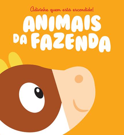 Livro Adivinhe Quem Está Escondido Animais da Fazenda Yoyo Usborne