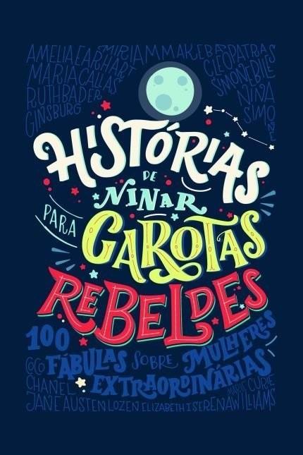 Livro Histórias de Ninar para Garotas Rebeldes V&R Editoras