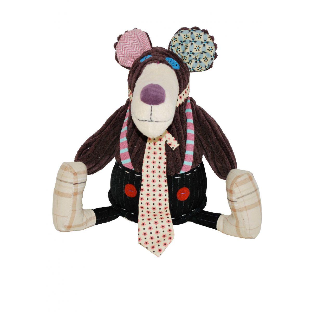 Pelúcia Original Gromos, o Urso - Les Deglingos