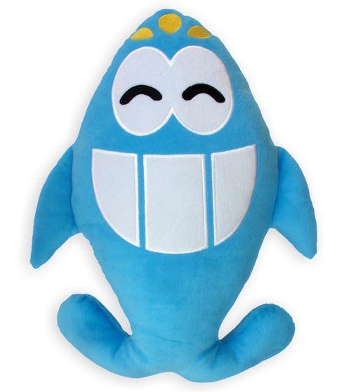 Almofada Toy Art Pex, Tubarão Azul Shofarkids