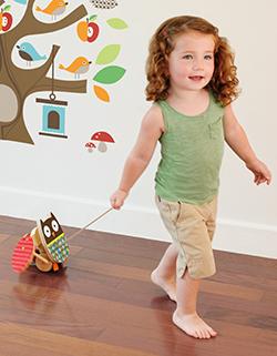 Brinquedo de Madeira Corujinha de Puxar - Skip Hop