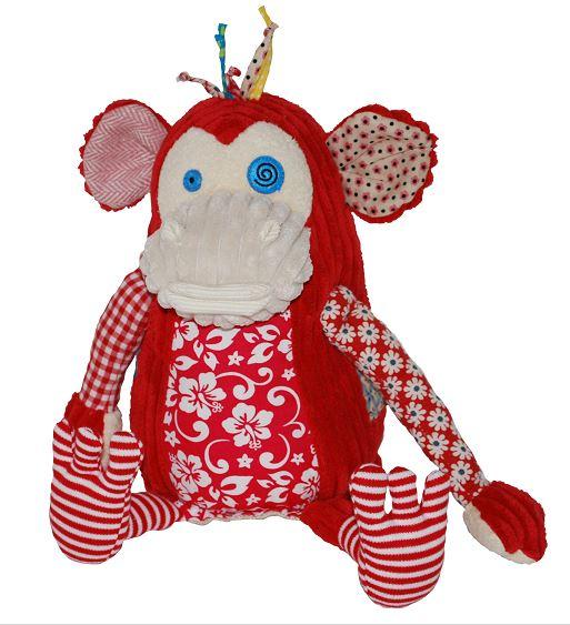Pelúcia Original Bogos, o Macaco - Les Deglingos