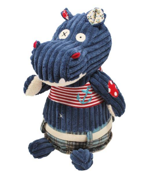 Pelúcia Original Hippipos o Hipopótamo - Deglingos