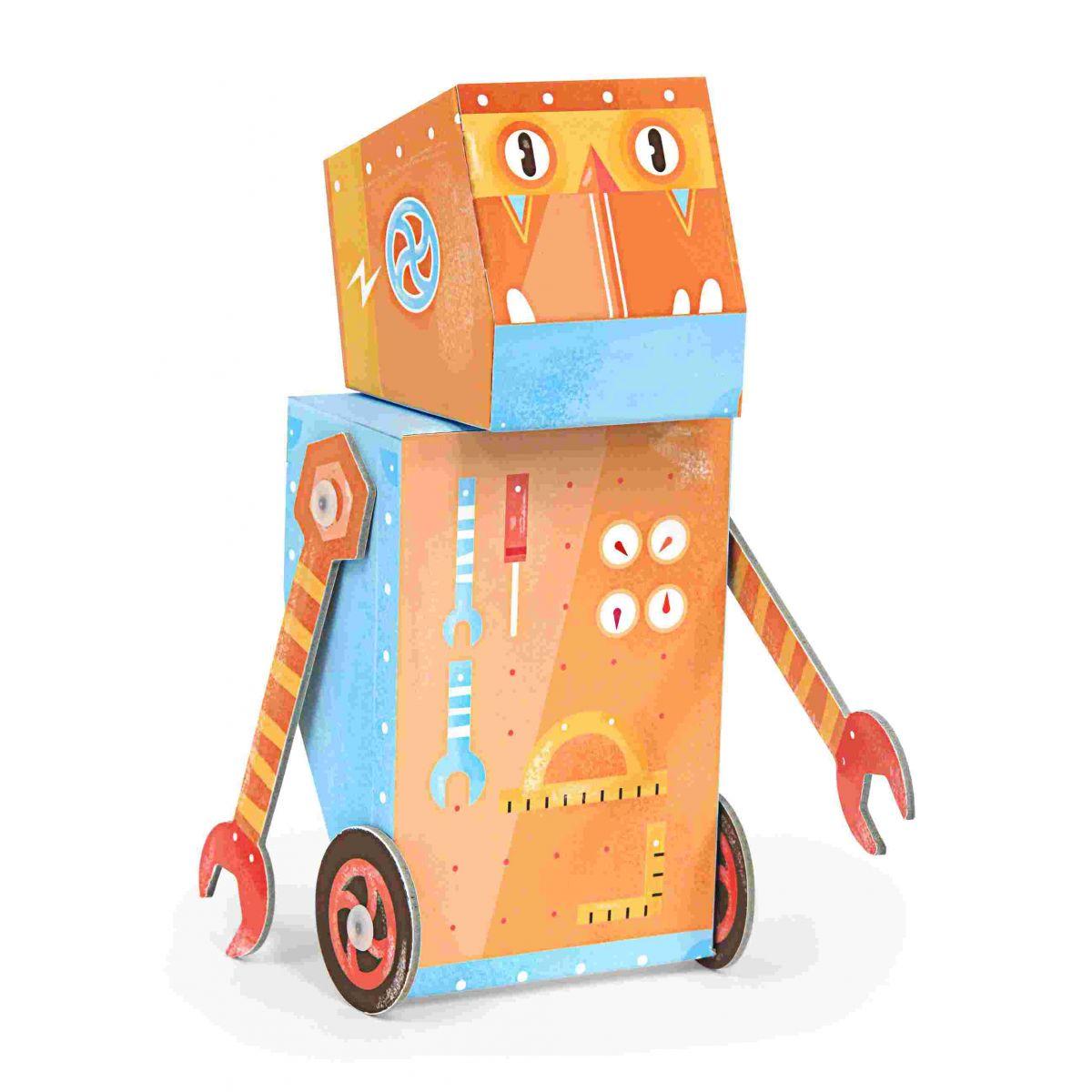 Robô de Brincar Construtor - Krooom