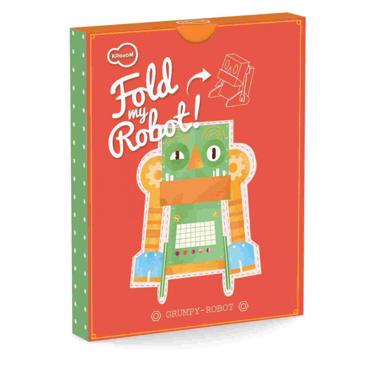 Robô de Brincar Mal Humorado Krooom