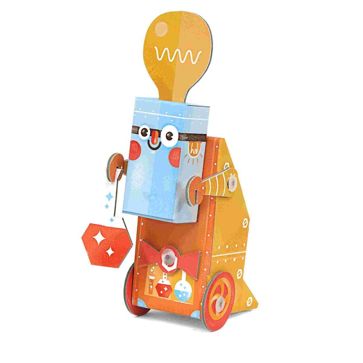 Robô de Brincar Cientista Krooom