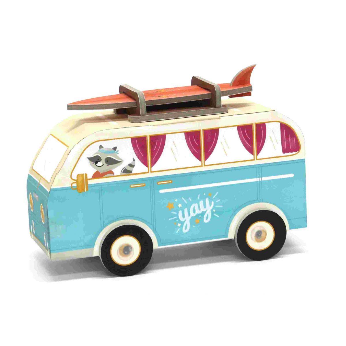 Carro de Montar Van Hippie - Krooom