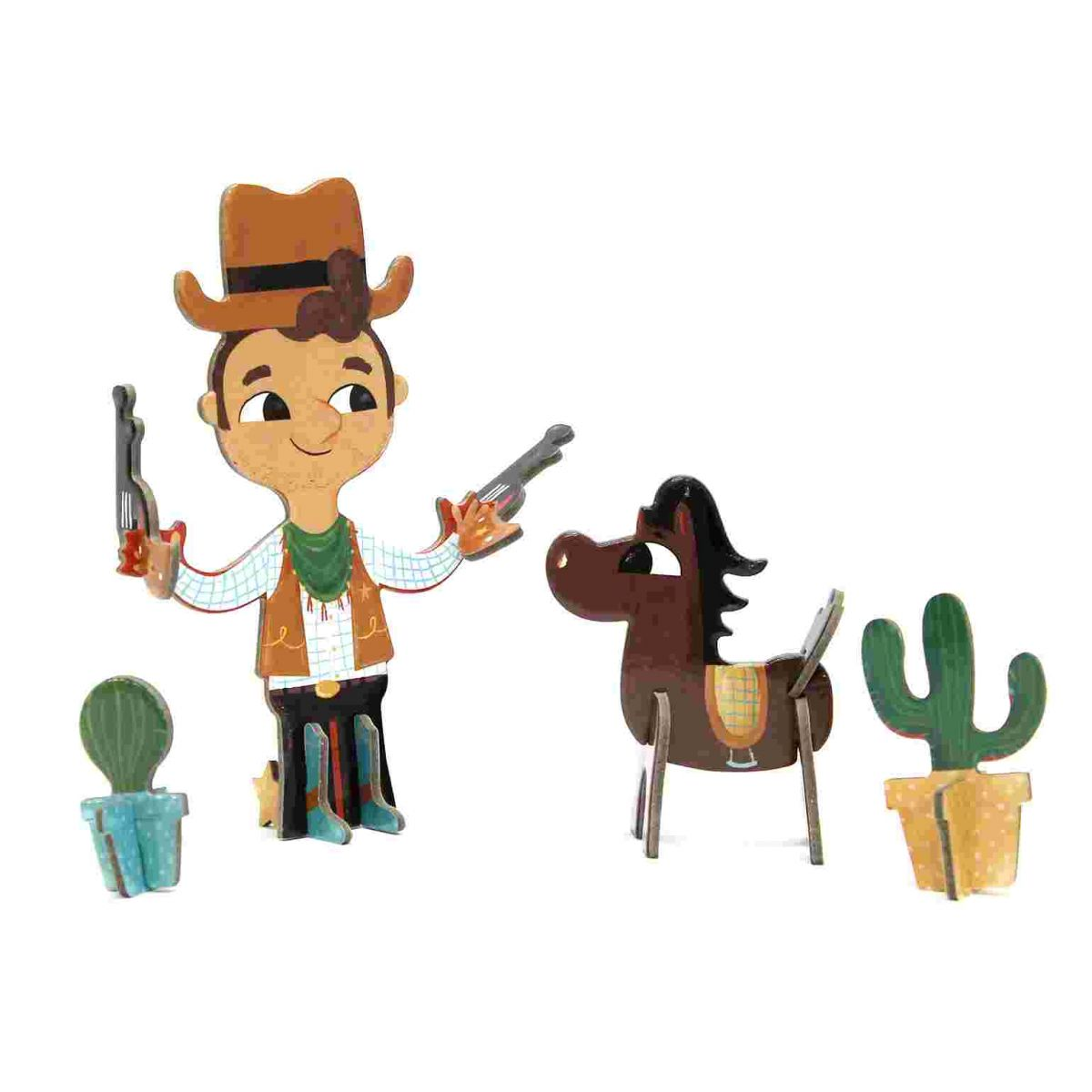 Personagens 3D Cowboy Krooom