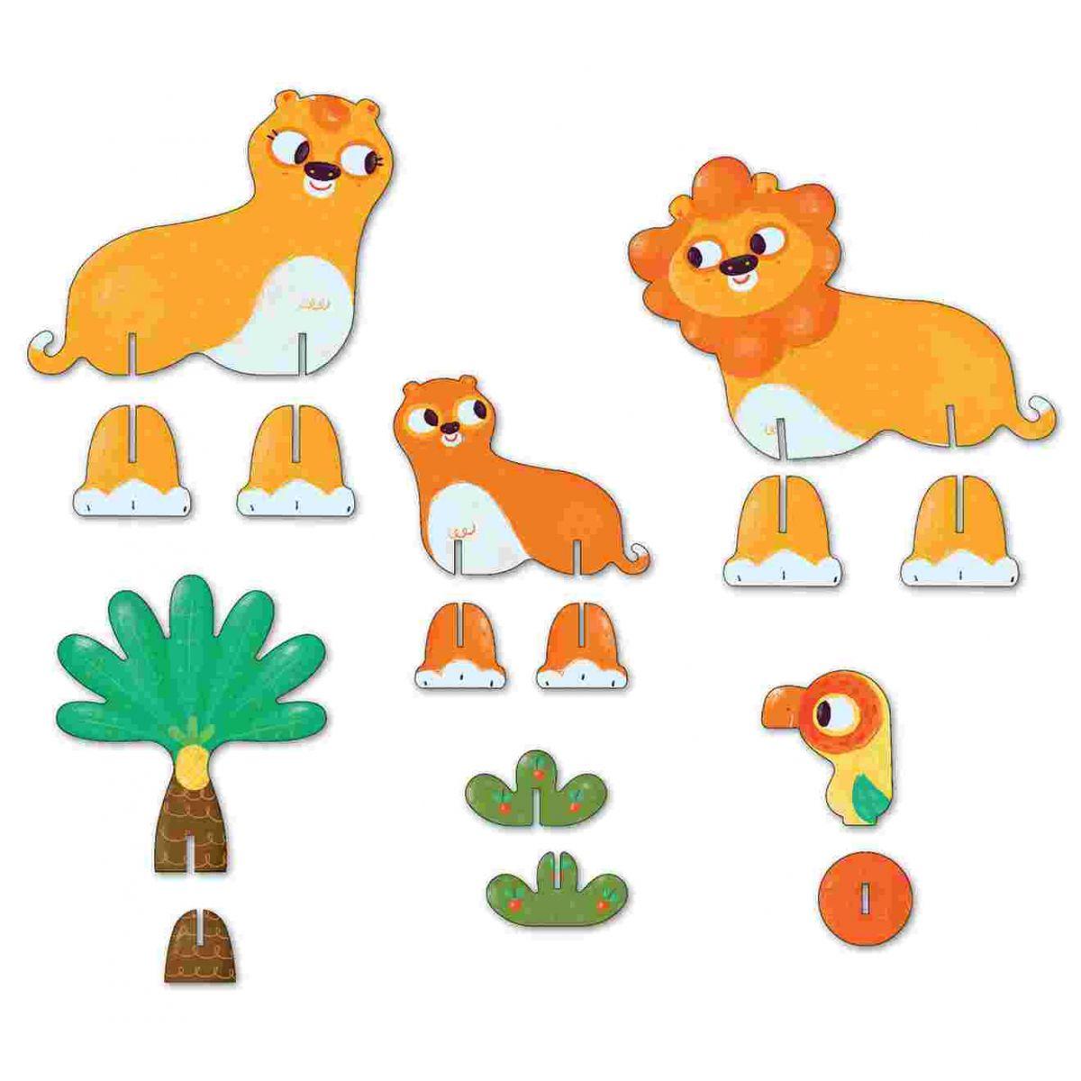 Personagens 3D Leões Krooom