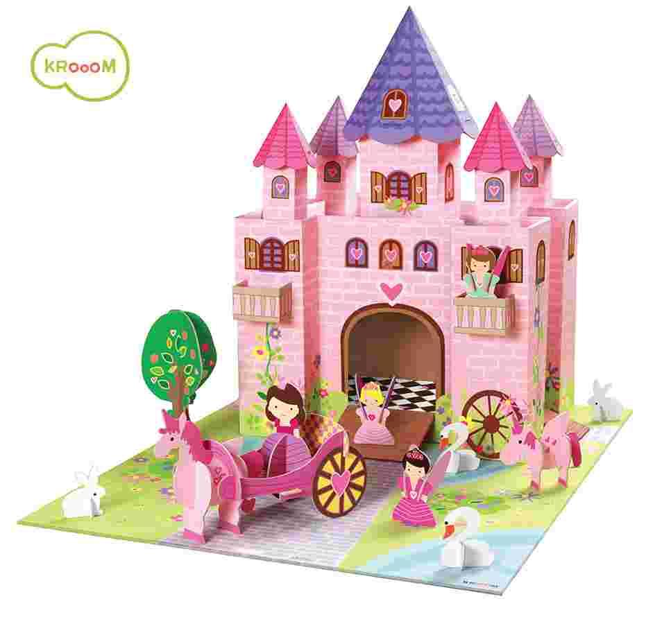 Cenário para Montar Castelo Princesas