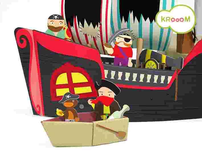 Cenário para Montar Pirata Krooom