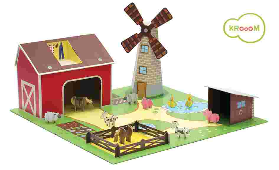 Cenário para Montar Fazenda Krooom