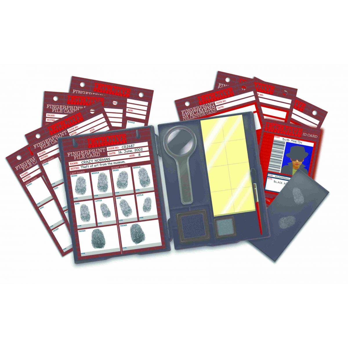Kit de Impressões Digitais Detetive 4M