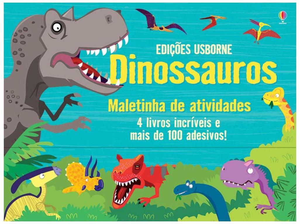 Maletinha de Atividades Dinossauro Usborne