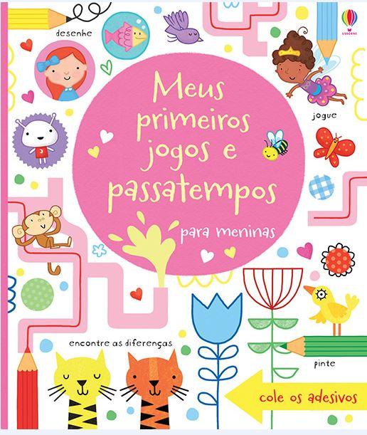 Livro Primeiros Jogos e Passatempos para Meninas