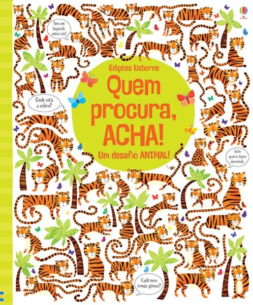 Livro Quem Procura, Acha - Um desafio animal
