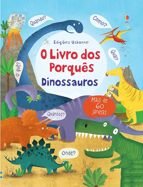 Livro dos Porques Dinossauro