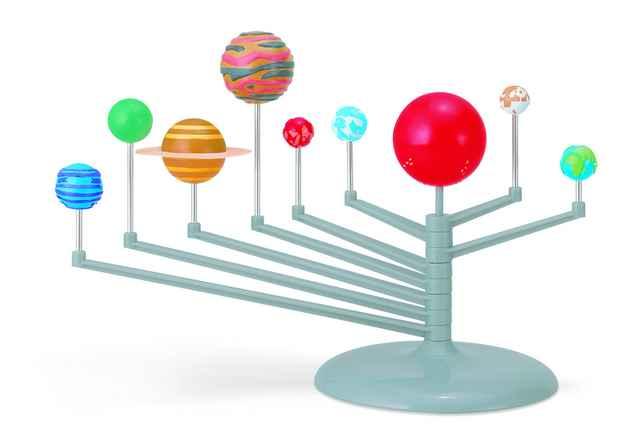 Kit Planetário Sistema Solar de Brinquedo  4M
