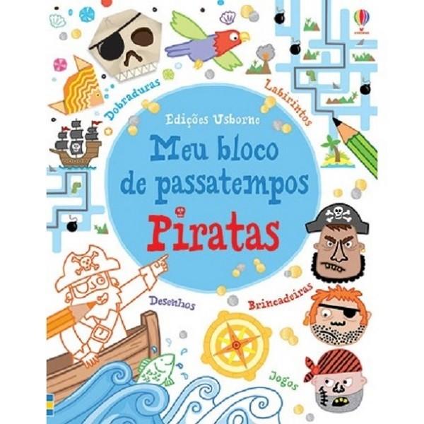 Meu Bloco de Passatempos Piratas - Usborne