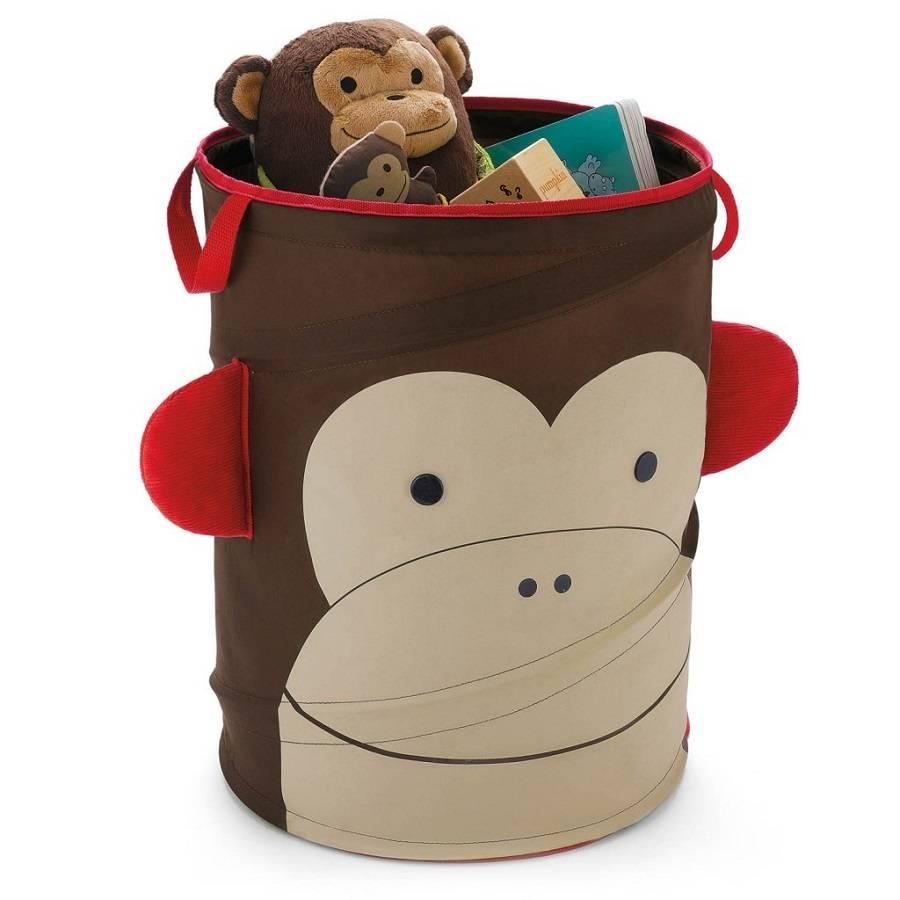 Porta Brinquedo Cilindrico Zoo Macaco Skip Hop