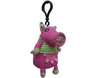 Chaveirinho Mini Deglingos Jambonos, a Porca
