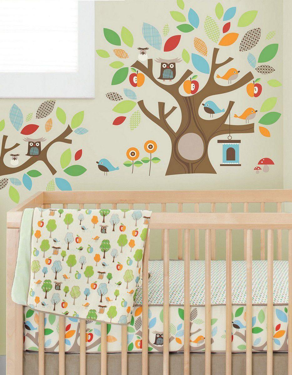 Adesivo de Parede Decorativo Amigos da Árvore Skip Hop