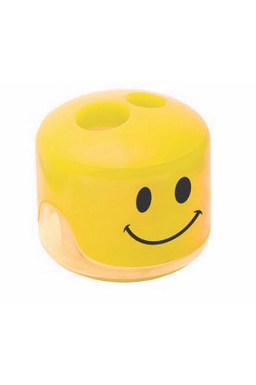 Apontador Emoction Amarelo Tris