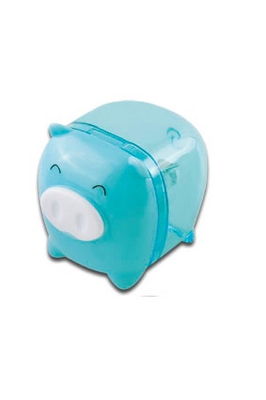 Apontador Porquinho Azul Tris